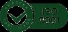 ISO 9001 - Verde e branco